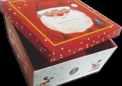 Bonjour Christmas Cookie Box