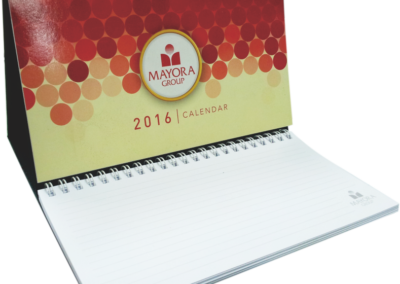 Customized Table Calendar for Mayora Group