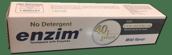 Enzim Toothpaste Packaging