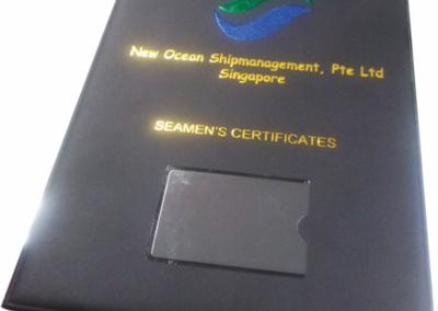 New Ocean Customized Folder